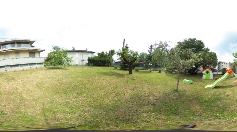virtual giardino villa Pilastrello Parma