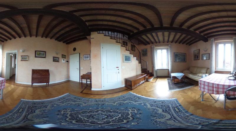 soggiorno appartamento zona Eurosia